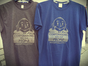 Image of Corporations Are Not People Tee